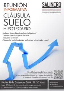 SALINERO-ABOGADOS-CARTEL-PEÑARANDA-CLÁUSULA SUELO HIPOTECARIO PEÑARANDA