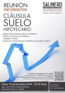 SALINERO-ABOGADOS-CARTEL-ZAMORA-CLÁUSULA SUELO HIPOTECARIO ZAMORA
